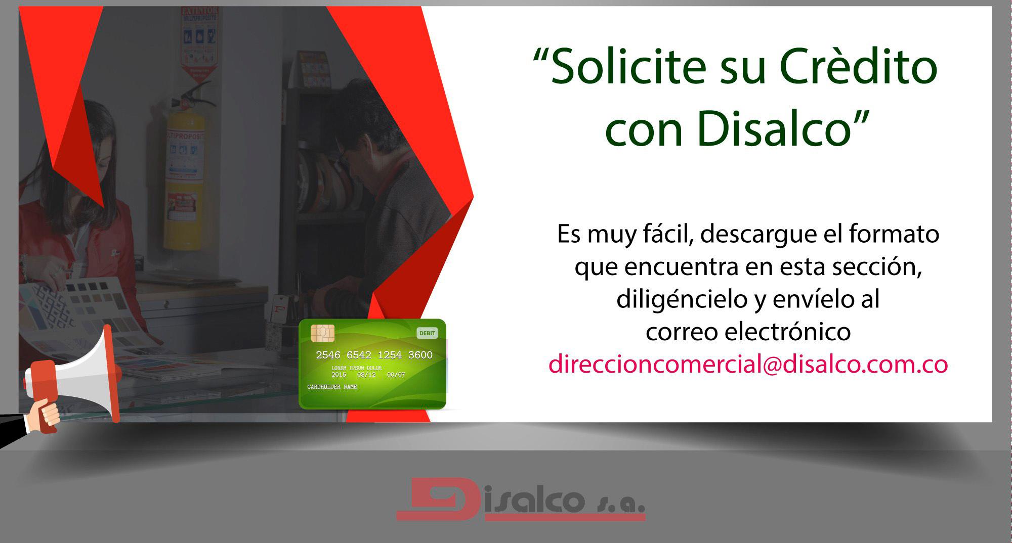 Creditos con Disalco